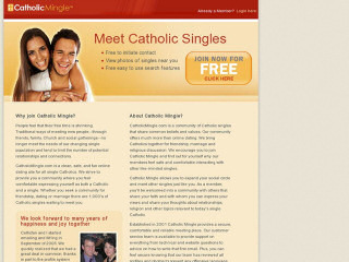 Visit CatholicMingle