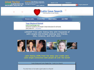 Visit LatinLoveSearch