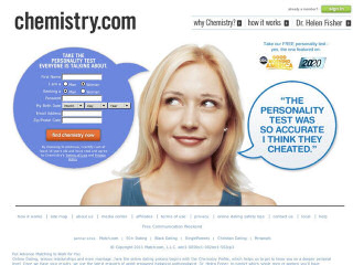 chemistry dating site cost