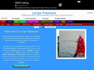 Large passion dating