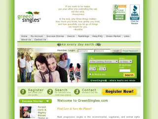 Greensingles com login