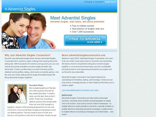 Visit Adventists Singles