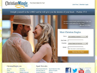 Visit Christian Mingle.com