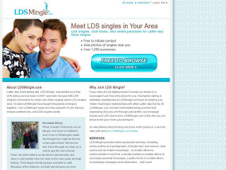 Visit LDS Singles Mingle