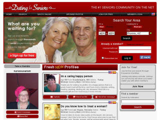 Visit Dating For Seniors.com