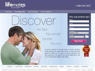Visit Life Mates Canada.com