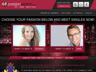 t Passion Search