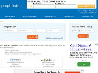 Visit PeopleFinders