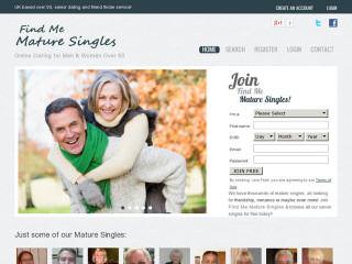 Visit Find Me Mature Singles