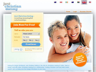 Visit Just Christian Dating