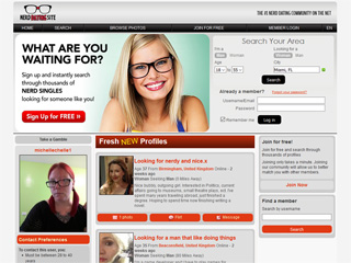 Free geek dating site review