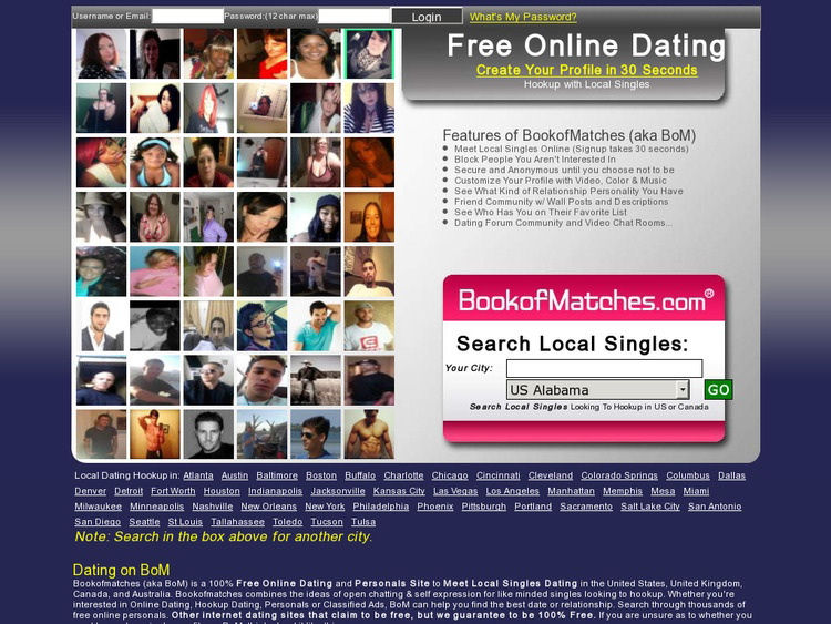 BookofMatches Review - DatingWise com