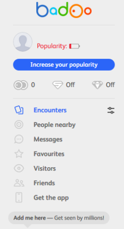 how to search for people on badoo