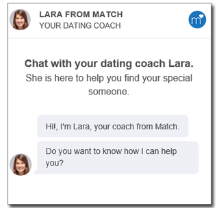 the helpful match.com dating coach