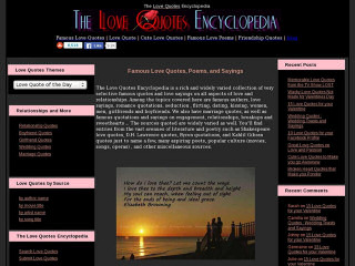 t Love Quotes Encyclopedia