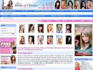 t Brides of Ukraine