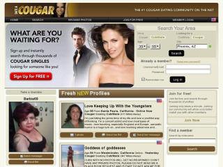 DateACougar.com