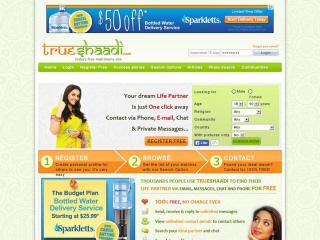 Visit TrueShaadi.com